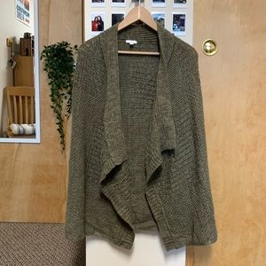 Olive Colored Cardigan Sweater from BP